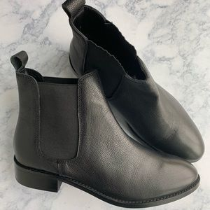 ASOS Absolute Chelsea Leather Ankle Boots